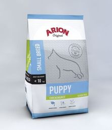 AR5501 Arion Original Puppy Small Kana & Riisi 3 kg